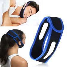 1X Anti Snore Stop Snoring Sleep Apnea Chin Strap Belt Jaw Solution xing