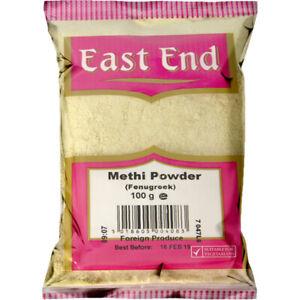 100g East End FENUGREEK POWDER Methi Ground Premium Quality Free UK P&P