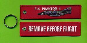 F-4 Phantom II RBF embroidered fob/luggage tag - New