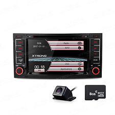 "7"" Dual CANbus Car Stereo DVD Player USB GPS Navigation Free Camera VW Touareg"