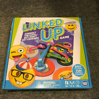 Linked Up Emojis card game age 6+ 2-4 players New Wonder Forge Board Game!