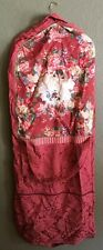 Pugs And Petals Clothes Carrying Hanging Bag Luggage N Pink/red Rare Puggage