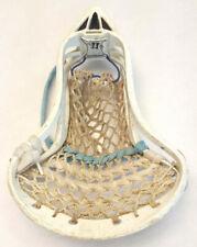 Warrior Cobra X Lacrosse Head-Factory White-Vtg-Mesh Strung-Rare Sport Equiptmen