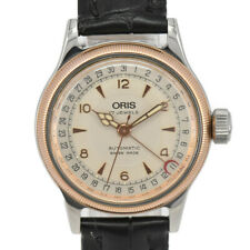 ORIS Big Crown Pointer Date 7400B Back schedule Automatic Boy's Watch I#98288