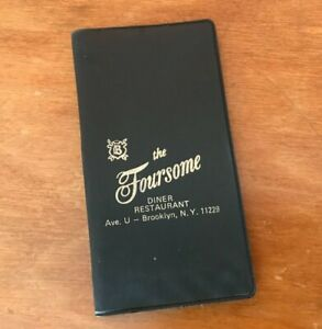 Brooklyn Diner 'The Foursome' 1975 Promotional Calendar and Manicure Set