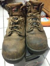 Red Wing Redwing Boots 9.5d steel toe