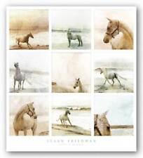 Carley at the Beach Susan Friedman Art Print 26x26