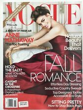 US VOGUE magazine - November 2010- Anne Hathaway Cover