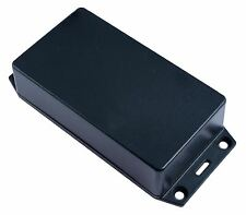 Hammond 1591XXBFLBK Black ABS Enclosure Flanged Lid 113 x 63 x 28mm