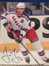 Jaromir Jagr Signed New York Rangers 8x10 Photo Steiner
