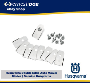 Husqvarna Auto Mower Blades   9 Blades Genuine and Screws   577864603