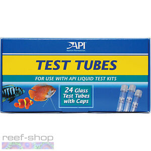 API Test Tubes 24 Replacement Glass Test Tubes for all API Aquarium Test Kits