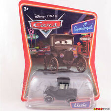 Disney Pixar Cars Lizzie Black Model T Supercharged series - worn packaging