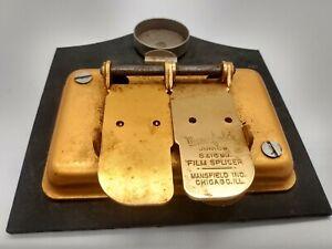 Vintage Mansfield Junior Film Splicer 8 & 16 mm Film Splicer
