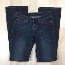 Jessica Simpson Women's Size 25 Short Sunshine Skinny Boot Bootcut Jeans Dark