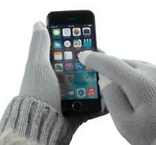 Touch Screen Handschuhe Grau für BlackBerry Bold 9900 / 9930 Handy Size M-L