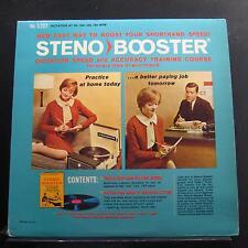 No Artist - Steno Booster LP VG+ S-202 Mono 1978 USA Vinyl Record