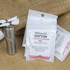2PACK Spirit Paraffin Or Oil -Lamp Wick 100% Organic Cotton Wax DIY RDA RBA