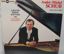Andre-Michel Schub - Debut Recording SEALED LP Vinyl Vox Cum Laude D-VCL 9009