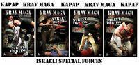 Kapap Krav Maga Street Fighting 4 DVD SET NEW
