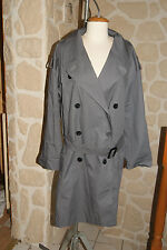 Trench gris bleu taille M marque MANOUKIAN