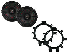 "NEW MB QUART 5.25"" 2-WAY X-LINE SERIES COAXIAL CAR SPEAKERS W/ MOUNTING BRACKETS"