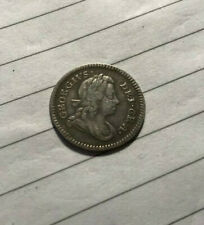 More details for 1717 george i - silver groat - 4 pence (4d) coin - excellent & rare