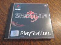 jeu playstation shaolin