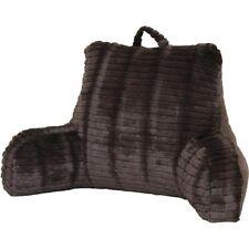 Cut Faux Fur Chocolate Bedrest Reading Posture Arm Pillow - Imported