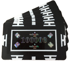 Poker Chip Plaques - 100000 Value