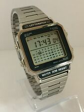 LottoWatch Module WL 703  Very Rare  LED LCD Rare Collectible Watch lot3