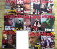 LOTTO 13 magazines BEST MOVIE annata 2003 (11 numeri NO OTTOBRE) + n.11-12 /2002