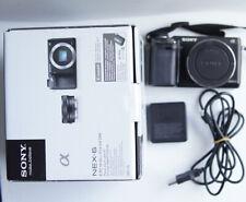 Sony Alpha NEX-6 (Body Only) WiFi Mirrorless Camera 30k Shutter Count