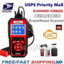 KW850 OBDII OBD2 EOBD Car Automotive Erase/Reset Fault Codes Diagnostic Scanner
