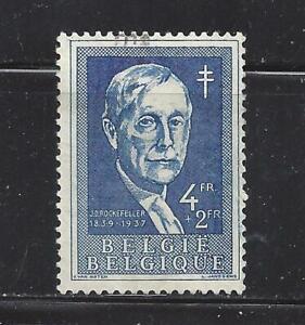 BELGIUM - B584-B585 - USED - 1955 - JOHN D. ROCKEFELLER, SIR ROBERT W PHILIP