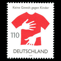 Germany 1998 - No Voilence Against Children - Sc 2017 MNH