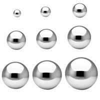 Stainless Steel Mirror Ball Chrome Reflective Mirror F8L0 Lightweight N3B7
