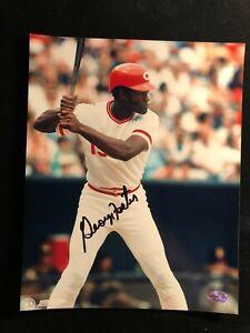 George Foster Signed Autographed Photo - COA - Cincinnati Reds