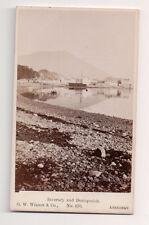 Vintage CDV Inveraray & Duniquaich Scotland G.W. Wilson Ph Aberdeen