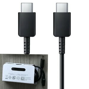 Samsung Type-C to Type-C USB charger cable cord Galaxy S20 + Note 10/ 10 plus