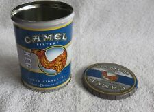 Camel Filters Cigarette Round Promotional Tin - Keg - Advertising Cigarettes -