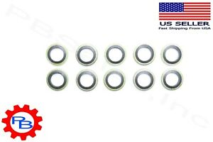 12 MM Banjo bolt fuel sealing washers Qty 10 for Cummins replaces OEM # 3963983