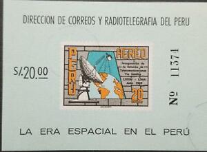 O) 1969 PERU, OPENING OF THE LURIN SATELLITE EARTH STATION NEAR LIMA, SCT C242a,