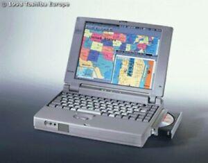 Vintage Toshiba Satellite Pro 430CDT P120 1.3GB Notebook Computer Windows 95