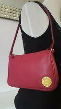 CERRUTI 1881 Dark Pink Plum crimson Maroon Handbag