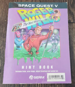 Space Quest 5 V The Next Mutation Original Hint Book
