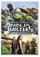 ✭ Teenage Mutant Ninja Turtles 2 - Out of the Shadows DVD | TMNT 2 Film ✭