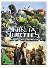 ✭ Teenage Mutant Ninja Turtles 2 - Out of the Shadows DVD   TMNT 2 Film ✭