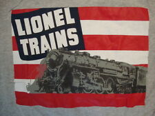 Lionel Trains Model Trains And Accessories Gray Cotton T Shirt SIze L