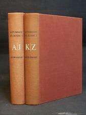 DICTIONNAIRE BIOGRAPHIQUE DES AUTEURS - LAFFOND - BOMPIANI - 2 volumes - 1956